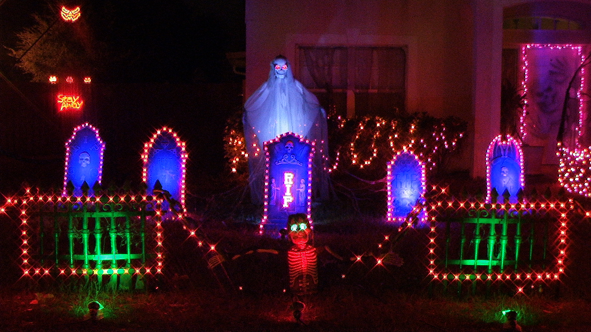 jayslights llc halloween lighting - Halloween Lights Thriller